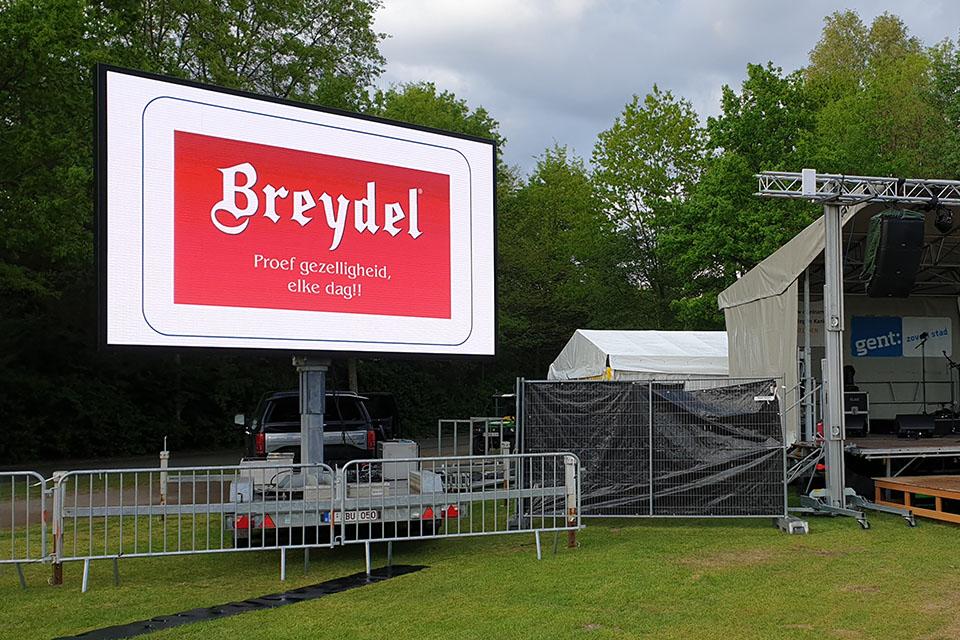 breydel 14m2 ledscherm