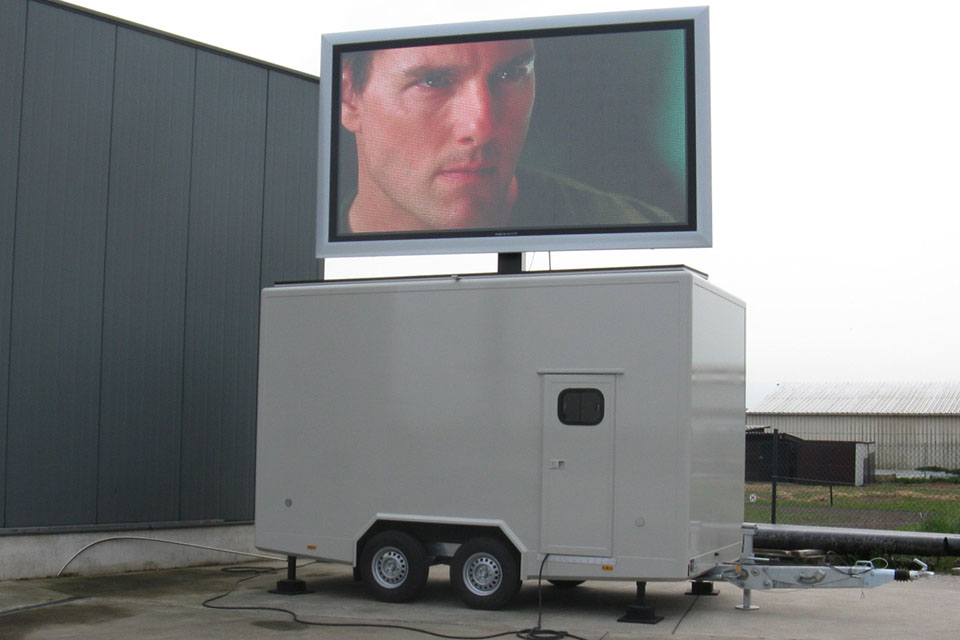 Tom Cruise 7m2 ledscherm