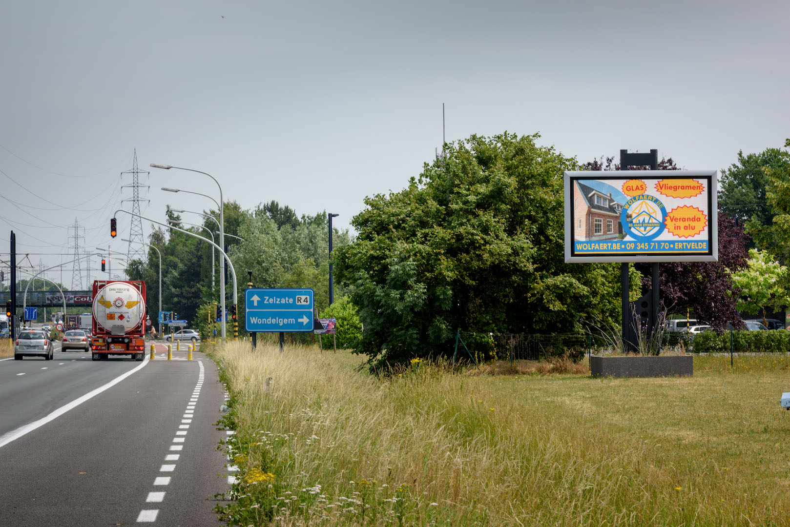 LED-AD scherm Wondelgem